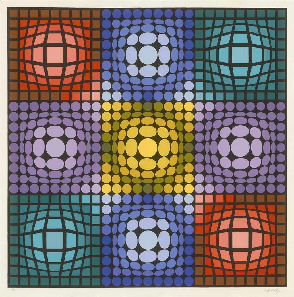 Dyevat, Victor Vasarely, Park West Gallery