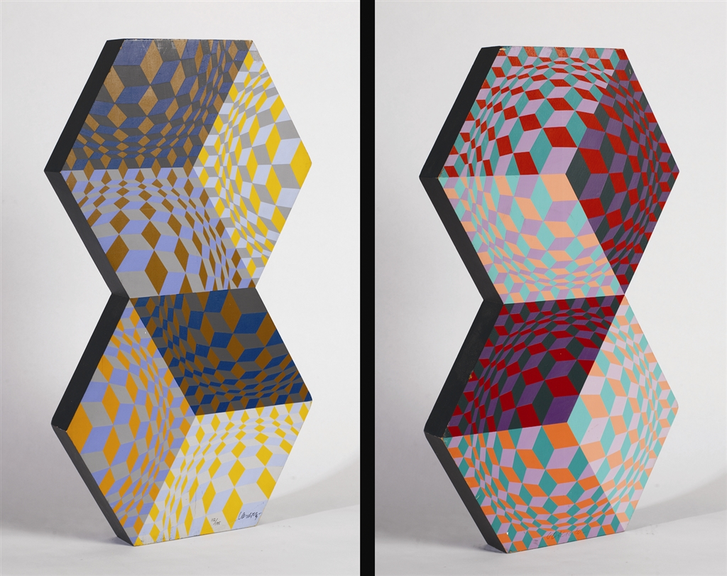 Kettes, Victor Vasarely, Park West Gallery