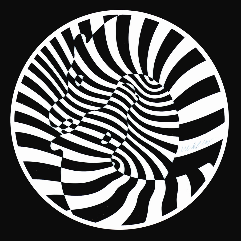 Zebra, Victor Vasarely, Park West Gallery