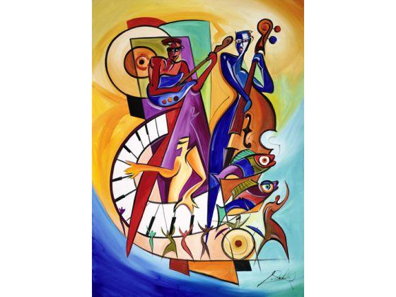 alfred gockel, panama city, jazz festival, park west gallery