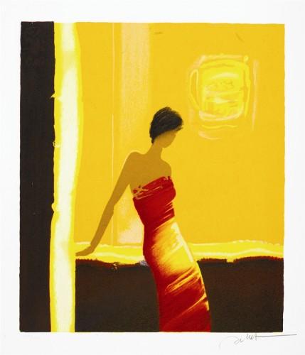 Emile Bellet, Dans l'Or Du Couchant, Park West Gallery