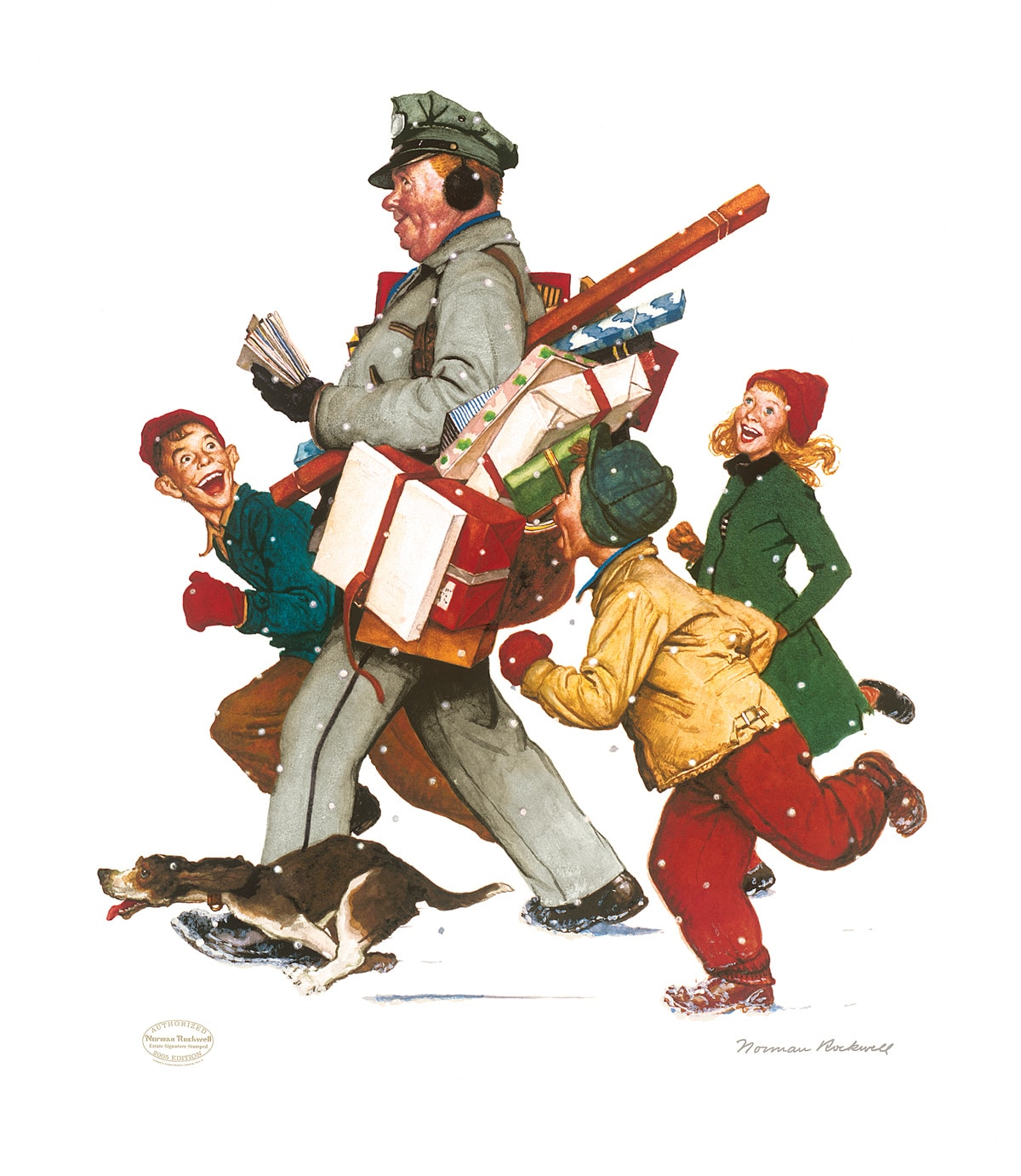 Image result for history of norman rockwell christmas