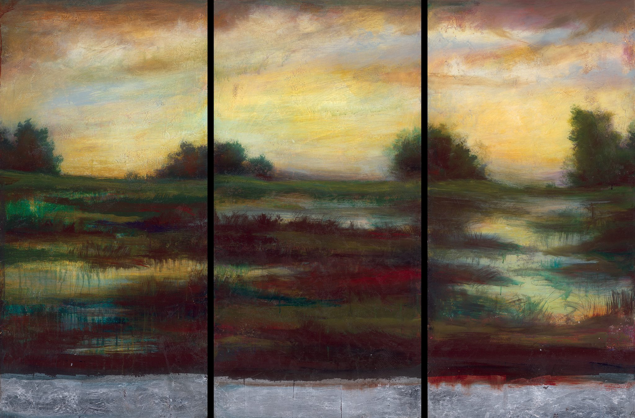 """The Last Emerald Vista III"" (2008) by Holland Berkley, Park West Gallery."