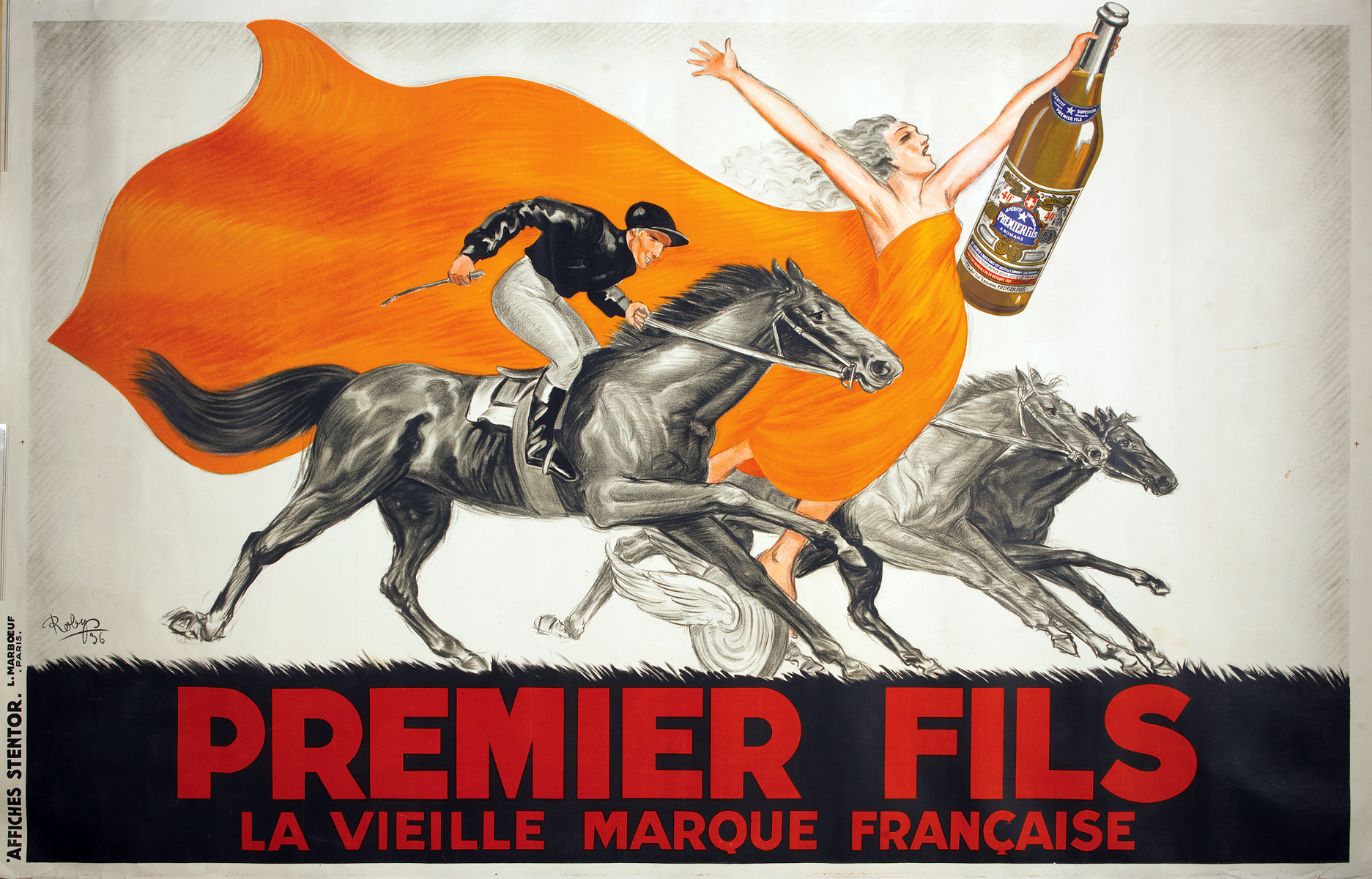 Premier Fils, Beverage Poster (c. 1936) by Robys (Robert Wolff). Park West Gallery Collection.