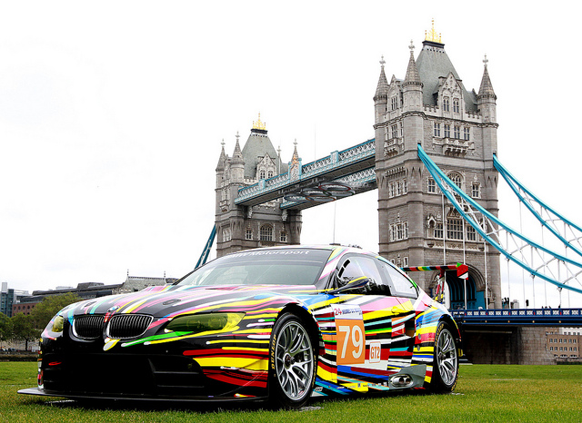 BMW Art Car, Jeff Koons. Credit: Getty Images/Jan Kruger
