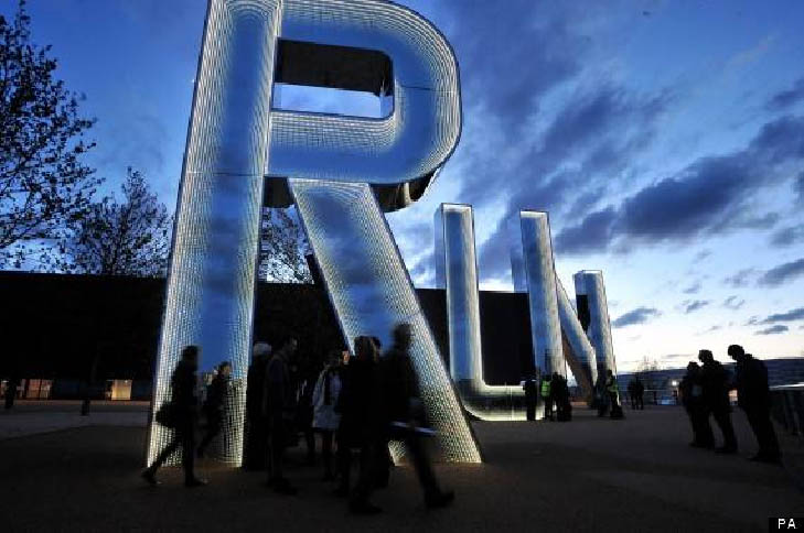 Art in the Park - RUN - Monica Bonvicini. Credit: AP